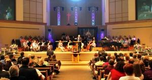 Easter Congregation Shot