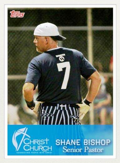 Shane Baseball Card