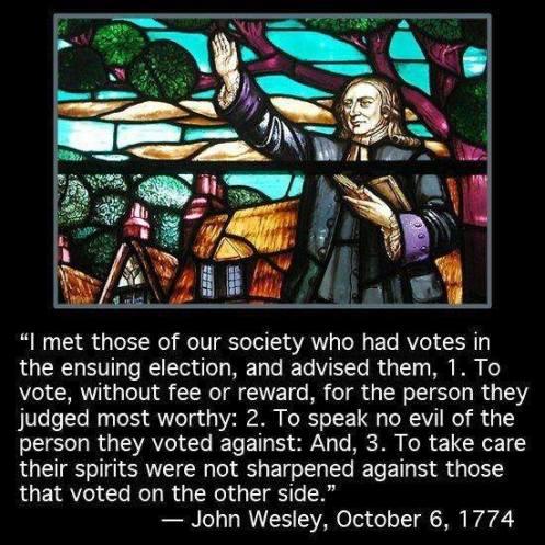 Wesley vote