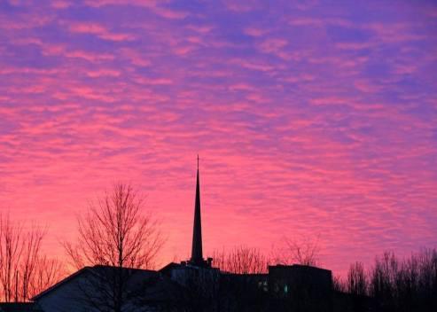 Christ Church Sunset