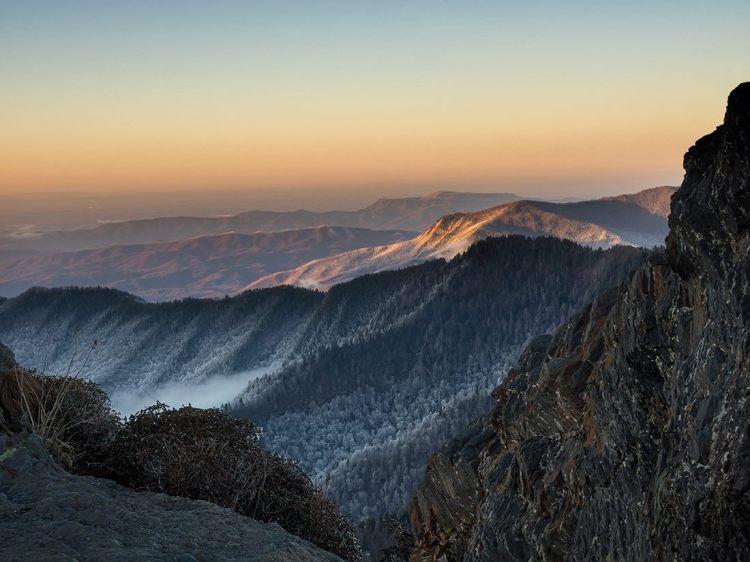 Smoky Mountain Winter